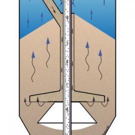 上海安碧罐体连续流砂过滤系统连续流砂过滤器活性砂过滤器
