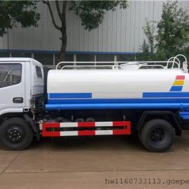 绿化园林浇水车价格,小型4吨5吨抗旱拉水车生产厂家(浇灌车)