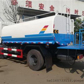 抗旱运水车_工地拉水车送水车_农田园林浇水车10吨12吨价格说明