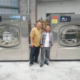 宾馆酒店洗衣房布草洗涤设备 酒店洗衣机和酒店烘干机价格