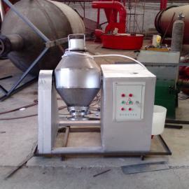 北京临沂白口铁转鼓式拌机也叫双锥式融入机