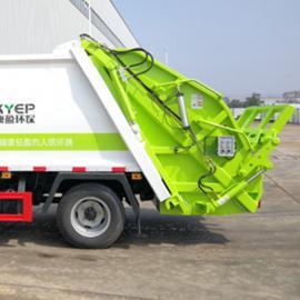 回收运输废物车-压缩式垃圾车