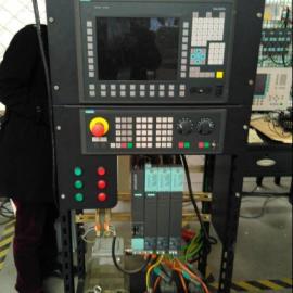 西门子802DSL屏幕右测下方软件没反应维修