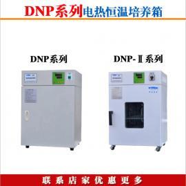 广州批发 DNP-9052-Ⅱ微生物电热恒温培养箱 不锈钢内胆 上海龙跃