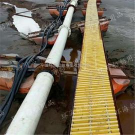 水上抽淤泥塑料浮子疏浚浮筒10寸管道浮体哪里最便宜