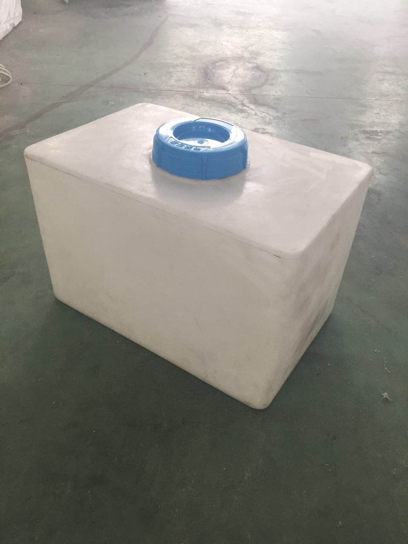 60L方形加药箱 60升耐酸碱 塑料搅拌桶 60L方形塑料加药箱