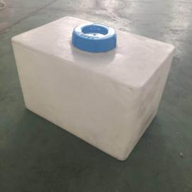 60LPE加药箱 60L耐酸碱搅拌罐搅拌桶加药箱60L方加药桶