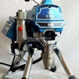 航星达595无气喷涂机漆纹乳胶漆虫胶漆机动粉机厂家直销