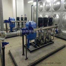 二次供水处理 自来水二次加压变频供水设备 高层家用生活用水