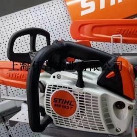 德国斯蒂尔油锯专卖 STIHL MS193T单手油锯 汽油链锯 伐木锯