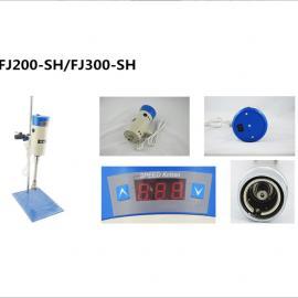 上海标本 FJ200-SH 数显恒速高速分散均质机 实验医用剪切乳化机