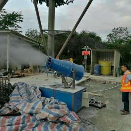工地扬尘监测系统BRL-YZ 带联动炮雾机降尘扬尘监测设备