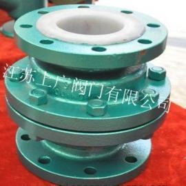 H42F46-10C/16C衬氟立式止回阀