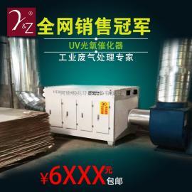 塑料厂车间废气处理设备 光波等离子一体机 大气处理环评设备