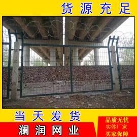 钢板网防护栅栏栏片 铁路护栏厂家 金属防护栅栏 铁路护栏