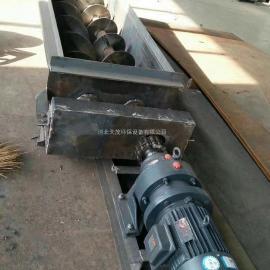 无轴式绞龙螺旋输送机管式天茂厂家可定制