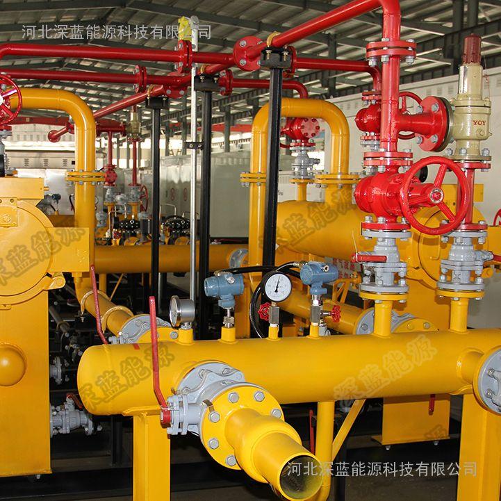 LNG城市门站燃气调压站