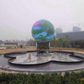 大型展馆球型直径3/3.5/4/4.2/5米LED显示屏升降式