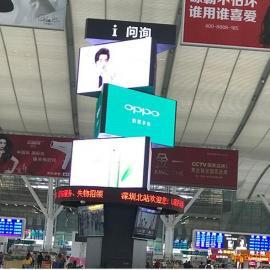 旋转广告LED显示屏的几种安装方式