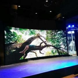 舞台背景全彩LED显示屏安装方案