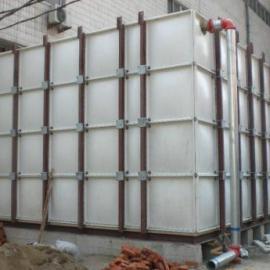 腾瑞达20吨 10*6*2玻璃钢保温水箱