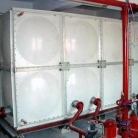 腾瑞达120吨保温不锈钢消防水箱
