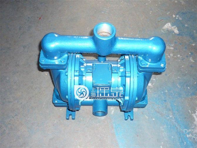 气动隔膜泵QBY-40铸铁隔膜泵/油漆泵污水泥浆泵工程抽料泵