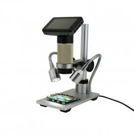 HDMI高清电子显微镜USB数码放大镜便携手机维修工业检测科学实验