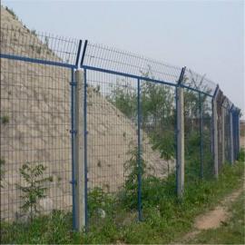 护栏网 高速公路隔离双边丝护栏网 绿化带圈地双边丝护栏网