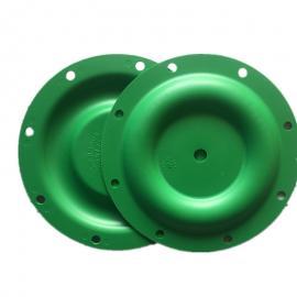 ARO英格索兰气动隔膜泵膜片 92973-B山道橡胶绿膜 一寸隔膜片