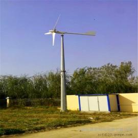 3千瓦风力发电机低转速小型家用一键式操作