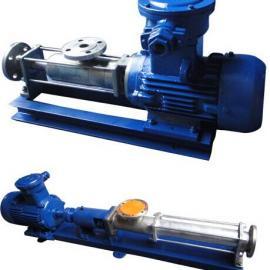 优质304不锈钢单螺杆泵 食品卫生级螺杆泵FG35-2 食品输送泵