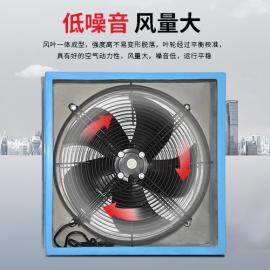 WEXD-350D4 380V边墙风机