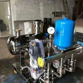 罐式无负压供水设备 稳流罐 压力罐 变频运行 无负压