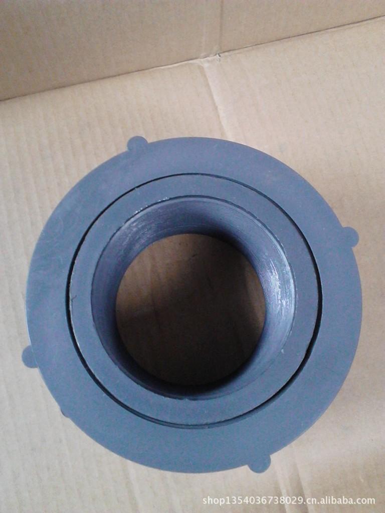 3寸PE法兰DN80焊接式法兰 塑料PE水箱进出水接口款到发货