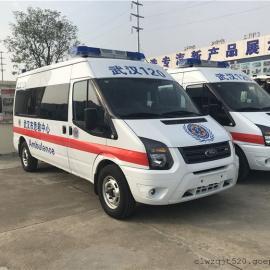 福特长轴距120救护车