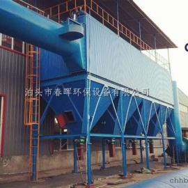 水泥厂旋转窑除尘单机布袋除尘器改造技术