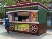 扬州木质岗亭-扬州特色小吃售货亭-扬州街道售货亭
