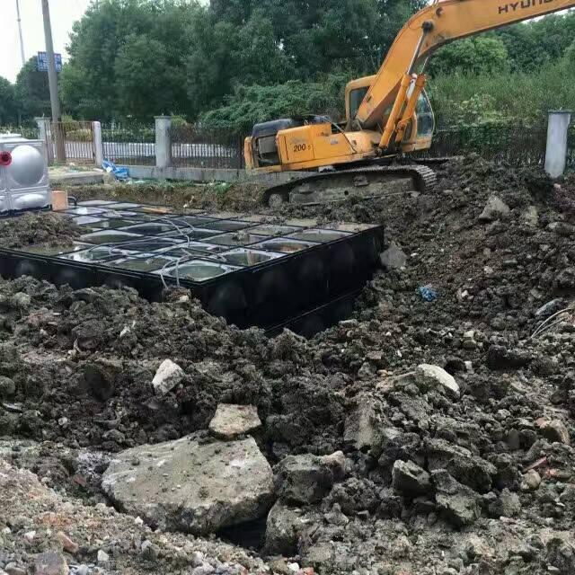 地埋式箱泵一体化 地埋式污水一体化提升泵站
