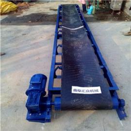 圆管主架 电动升降移动式橡胶运输机 加工定制传送机