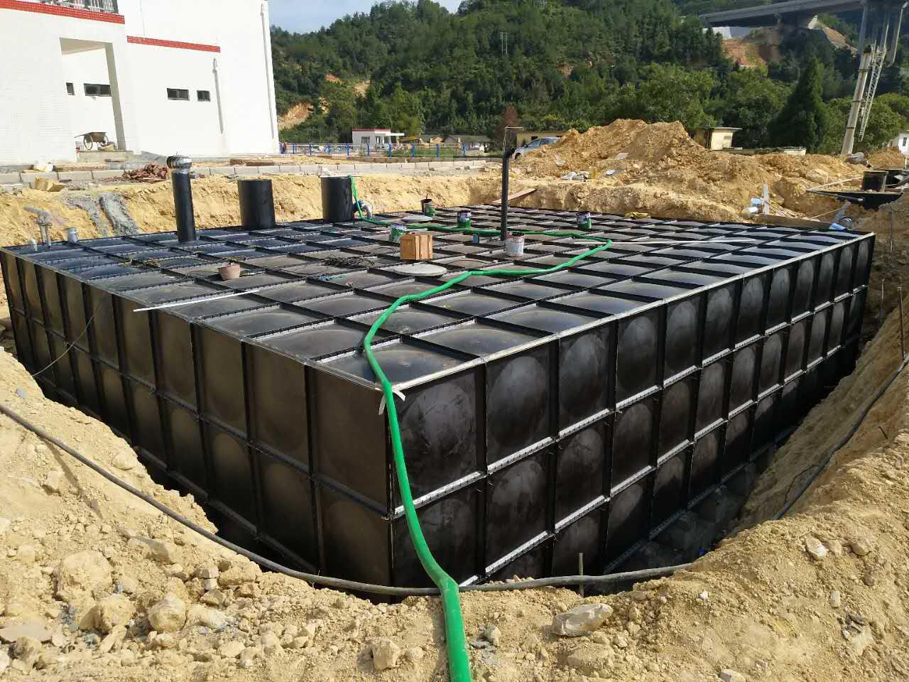 地埋水箱价格/优势/案例/图片/