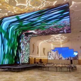 展览馆LED显示屏定制厂家,展馆LED电子屏报价钱