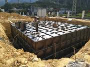 图集大模块抗浮地埋水箱 地埋式箱泵一体化