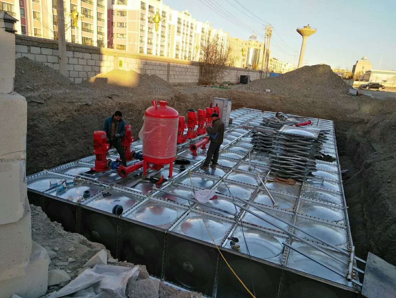 地埋水箱 地埋水箱厂家 抗浮埋式箱泵一体化
