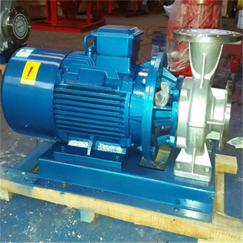 卧式管道泵 不锈钢卧式管道泵 凯士博牌不锈钢管道泵