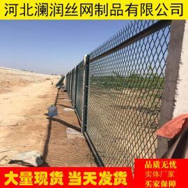 蒙华铁路专用防护栅栏 高速铁路桥下钢板网防护栅栏