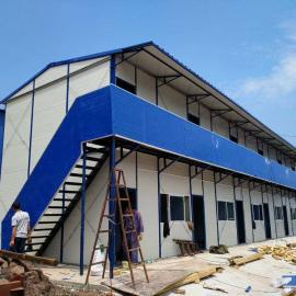 厂家生产单层、双层活动板房,工人宿舍。