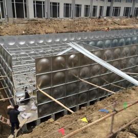 抗浮地埋箱泵一体化 地埋水箱