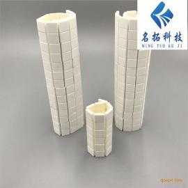 高纯度氧化铝陶瓷片 耐磨陶瓷衬片