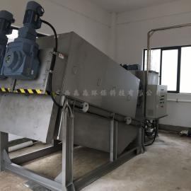 厂家直销节能低噪音污水脱水机用水量仅为带式的1/115上门安装